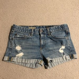 AG Pixie Roll-up Jean Short